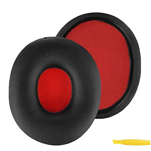 Geekria QuickFit Protein Leather Cuscinetti di ricambio per cuffie Sony MDR-ZX750DC MDR-ZX750 MDR-ZX750AP MDR-ZX750BN, cuscinetti auricolari per riparazione (nero)