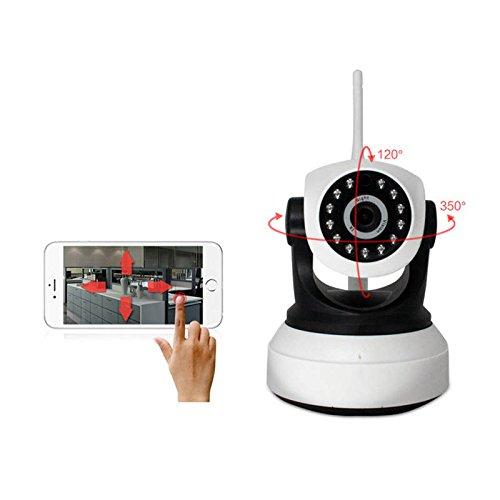 Preisvergleich Produktbild Sicherheitskamera Bewegunelder Mit Wlan Außen,  IP Cam Verlängerung Ptz Outdoor,  Wireless Kamera Indoor Set Mini,  Wifi Kamera Mini Nachtsicht Bewegungserkennung direkt auslösen Sirene,  während das Telefon,  um ein APP Telefon zu schieben Indoor CCTV X72-LZY