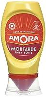 Lot de 9 Moutarde de Dijon Fine & Forte Bocal 915g Goût Authentique Produit en France La moutarde de Dijon fine et forte Amora apporte toute la finesse d'une bonne moutarde avec un vrai piquant Astuce du chef: Ajoutez une cuillère à soupe de moutarde...