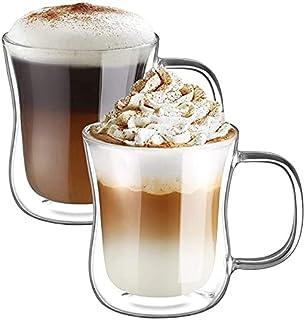 Ecooe kubki do kawy z podwójnymi ściankami, 2 x 350 ml