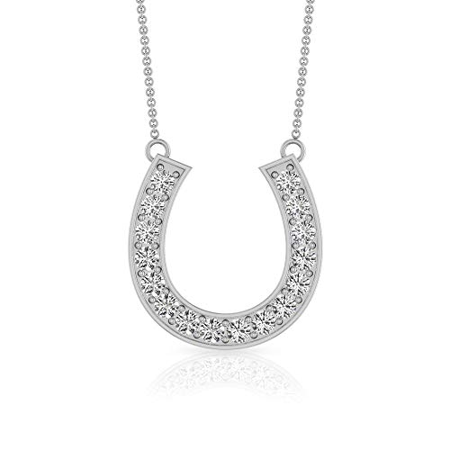 0.16 Carat Pave SGL Certified Diamond Monogram U Letter Pendant, Initial Alphabet Birthday Anniversary Necklace, Minimal Stack Mother Day Pendant Gift, 92.5 Sterling Silver