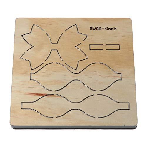 VVXXMO Bow Bowknot troqueles de corte de madera,DIY Scrapbooking plantilla,Decoración de álbum de fotos,Sello de papel tarjeta de grabado en relieve