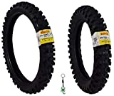 Pirelli Scorpion MX Extra J Motocross Front and Rear Combo Dirt Bike Tires with...