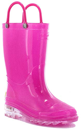 Durango Kids BT568 Lil' 8 Inch,Pink Bling,11.5 D