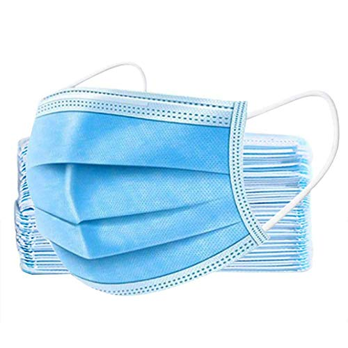 Northwest High Filtration And Ventilation Security,50 Pieces Hygiene And Protection Against Surgical Dust Waterproof Cover Blue (24-3PlyMask_50pack)