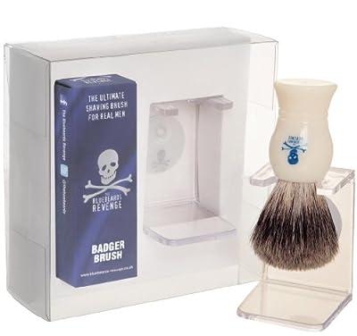 The Bluebeards Revenge Badger Brush and Drip Stand