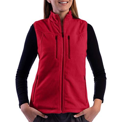 SCOTTeVEST Women's Fireside Fleece Travel Vest | 15 Pockets | Anti-Pickpocket
