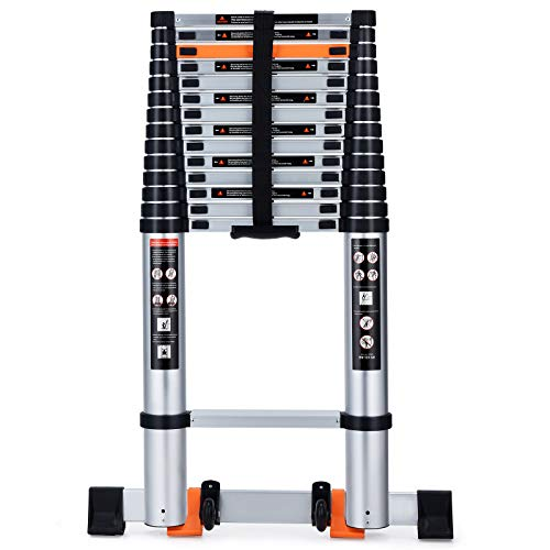 Telescoping Ladder Extension Multi-Purpose 18.5 FT...