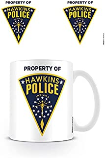 Pyramid International Stranger Things Mug Hawkins Police Badge Calici Tazze