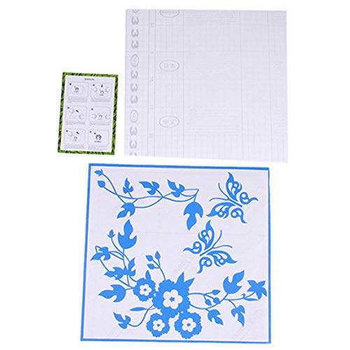 Klussen & Gereedschap Mode Vlinder Bloem Wijnstok Badkamer Muurstickers Woondecoratie Wc-Deksel Muurstickers Voor Toiletbril Cover Decor Sticker-Blauw