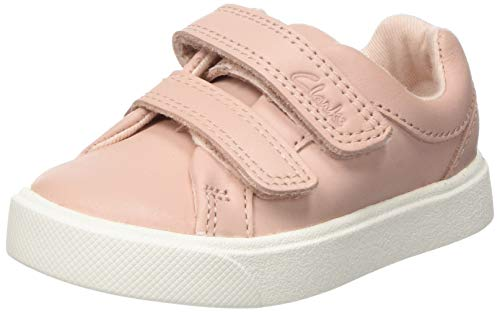 Clarks City Oasislo T, Zapatillas para Niñas, Rosa, 24 EU