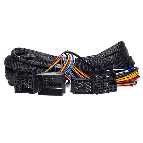 Eonon 17 Pin + 40 Pin 5m Extension Harness Only for GA9449/GA9450-A0582