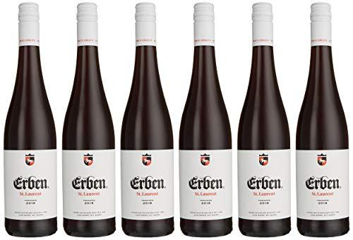 Erben St. Laurent Trocken – Rotwein aus Deutschland – Qualitätswein – 6 x 0.75 l