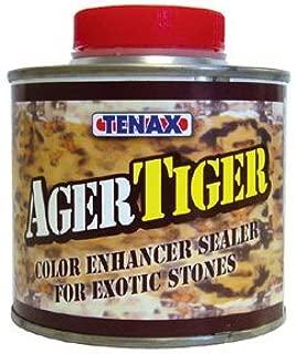 Tenax Tiger Ager Color Enhancing Granite Sealer, Marble & Stone Sealer - 1/4 Liter