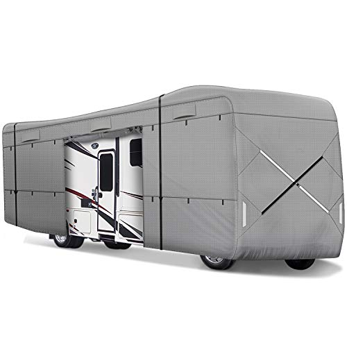 Leader Accessories Class a RV Cover Fits 24'-28' Motorhome Triple Layer Polypropylene Outdoor Protect