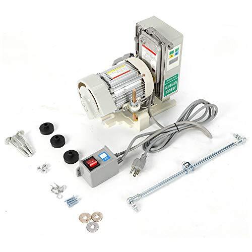 Motor de máquina de coser de bajo consumo sin escobillas ajustable Servomotor eléctrico para máquina de coser industrial, poco ruido
