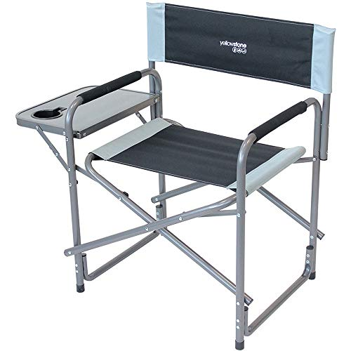 NEW DIRECTOR CHAIR WITH SIDE UNIT TABLE CAMPING HIKING FESTIVALS FISHING OUTDOOR