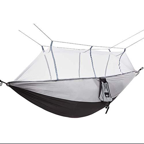 XHLLX Hamaca para acampar y jardín con mosquitero para exteriores para 1 – 2 personas, portátil, para colgar en la cama