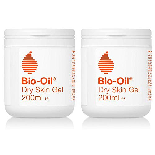 2 x 200ml Bio Oil Skin Gel Moisturiser Dry Dehydrated Sensitive Skin Face Body