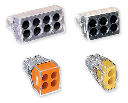 Wago 773 Push Wire Wall-Nut Assortment Pack
