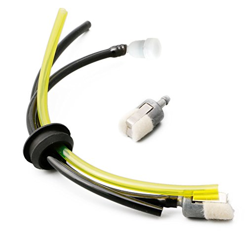 SimpleLife - Kraftstoffleitungen für Rasenmäher in Gelb + Schwarz, Größe 1 Set