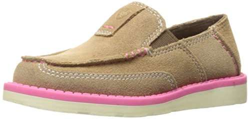 Kids' Cruiser Slip-on Shoe, Dirty Taupe Suede, 11 M US Little Kid
