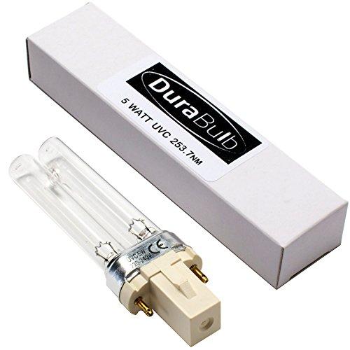 durabulb Ersatz UV (Ultra Violet) Lampe für Teich UVC Filter & Klärer 5W 7W 9W 13W - 5W