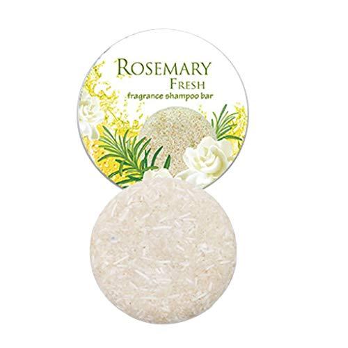 Jabón artesanal, champú sin aceite de silicona, salud natural, hidratante, anticaída (Romero ) (05)