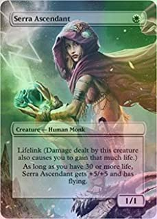 Serra Ascendant - Casual Play Only - Customs Altered Art Foil