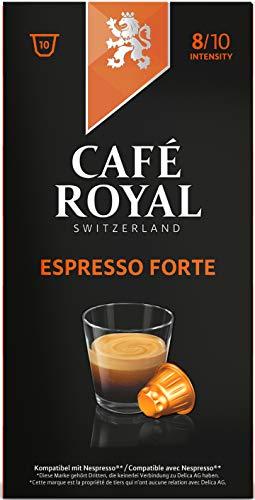 Café Royal Espresso Forte 100 cápsulas compatibles