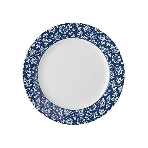 Laura Ashley - Platos, platos de postre - Blueprint Sweet Allysum - 18 cm de diámetro.