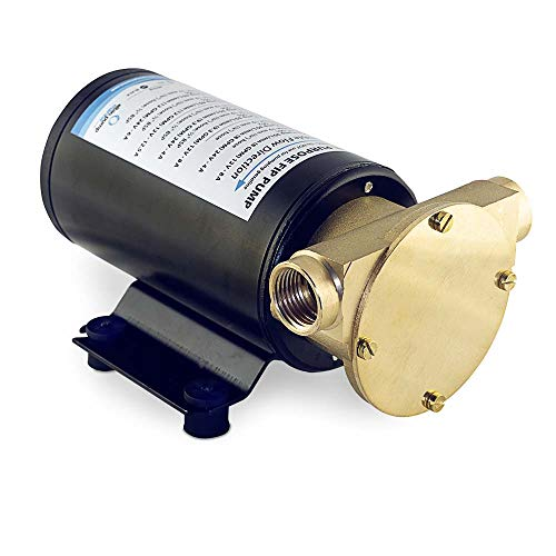 Albin Pump Impeller Pumpe FIP F4 24V Universalpumpe Wasser Öl Chemikalien