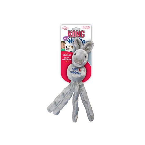 Kong Wubba Friends Hundespielzeug, mit Squeaker, 44 cm