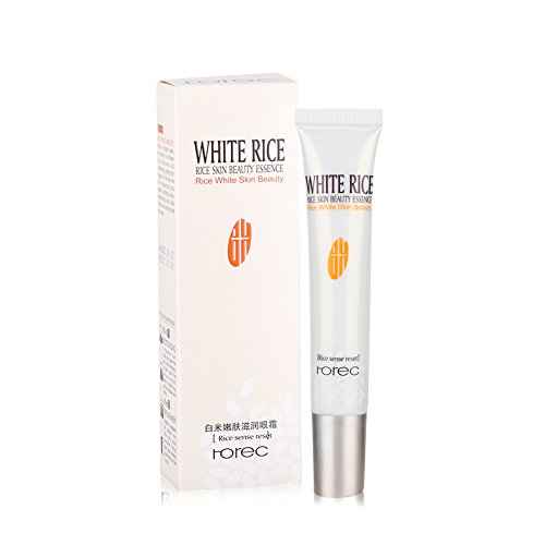 Augencreme Anti-Aging Reis Essenz Feuchtigkeitscreme Anti-Falten-Augencreme Augenverjüngung Firming Essence Nacht/Tagescreme