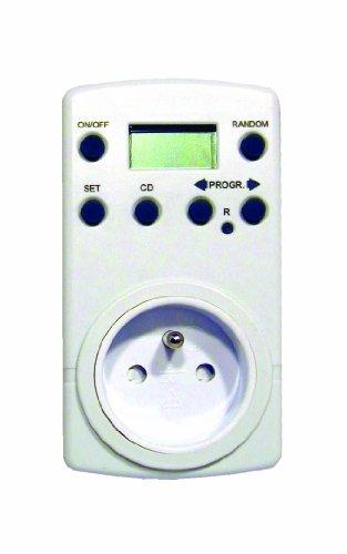 Chacon 54020 - Programador Digital, Color Blanco