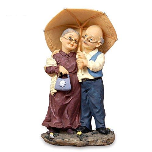 Nanxin - Figura decorativa para el día de la madre con tarjeta de regalo (paraguas)