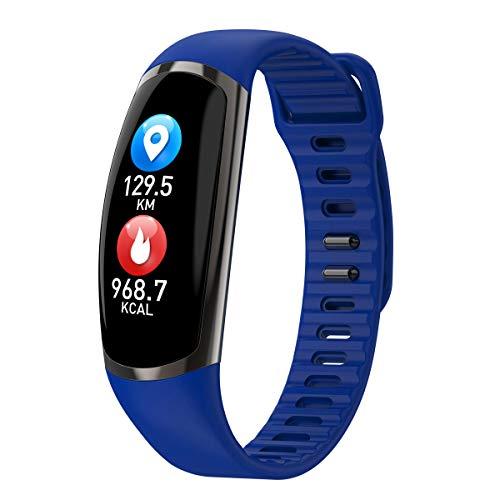 OPAKY Pulsera Monitor de Actividad Pulsómetro y Podómetro para Mujeres Hombres Fitness Sport Smart Watch Presión Arterial Pulsera Monitor de Ritmo Cardíaco