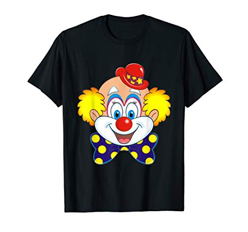 Lustiges Karneval Zirkus Clown Kostüm Faschings T-Shirt