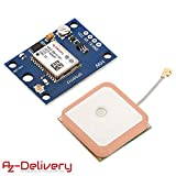 AZDelivery NEO-6M Módulo GPS con eBook incluido