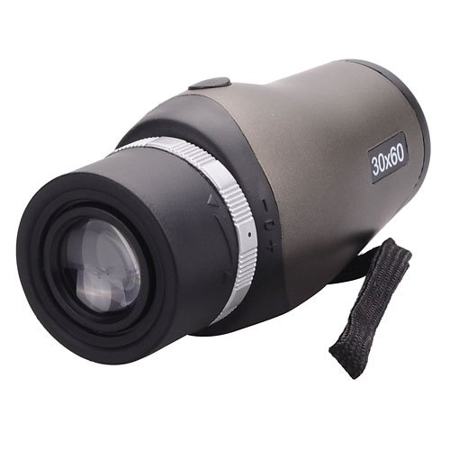 %31 OFF! Compact High Clear 30x60 Zoom Telescope Monocular with Carrying Pouch for Outdoor Sports Tr...