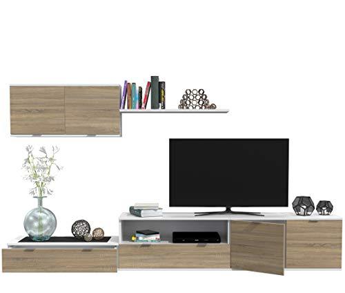 Dormidán- SL10, Mueble de Comedor, Conjunto de Salon, módulo bajo, modulo Colgante,...