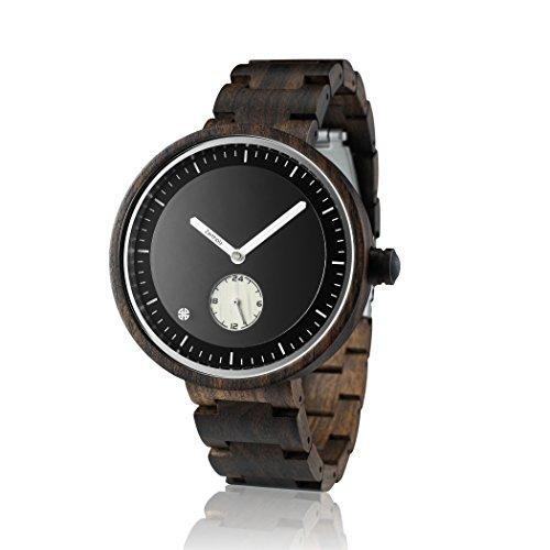 ZEITHOLZ – Reloj de Madera para Hombre, Modelo Zinnwald – Caja y C
