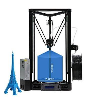 ANYCUBIC 3D Impresora Versión Lineal Kossel Plus con Montaje ...