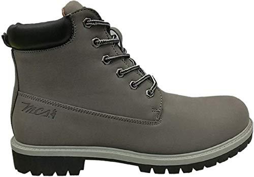 MCS Marlboro Classic Boots Stiefel Winterstiefel Haerzong MX172.M.897 dunkelgrau, Schuhgröße:40 EU