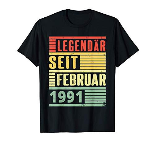 Legendär seit Februar 1991 30. Geburtstag Vintage T-Shirt