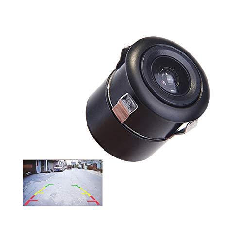 GOFORJUMP Caméra de recul de Voiture de 22,5MM Universal HD Étanche Poinçonnage Aide au stationnement CCD Vue arrière Image de recul