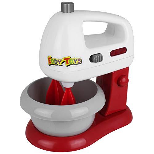 TW24 Spielzeug Rührmaschine Set 8tlg. mit Licht Küchenzubehör Standmixer Schokolade Eier Milch Doughnuts Küchenspielzeug Spielküche