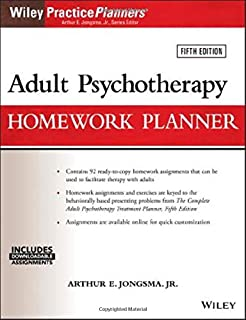 Adult Psychotherapy Homework Planner (PracticePlanners) (1119278074)   Amazon price tracker / tracking, Amazon price history charts, Amazon price watches, Amazon price drop alerts