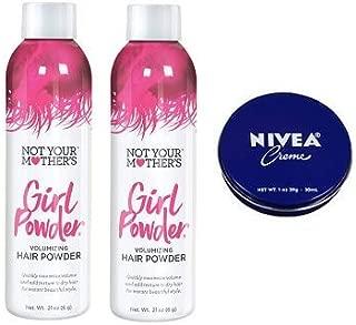 Not Your Mother's 2 Pack Girl Powder Volumizing Hair Powder 0.21 Oz.+ Travel Size Body Cream 1 Oz.