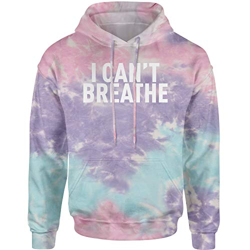 Expression Tees Hoodie I Can't Breathe Social Justice Adult Large Cotton Candy